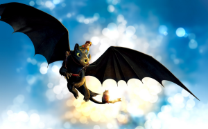 Toothless from DreamWorks' 'How to Train Your Dragon'